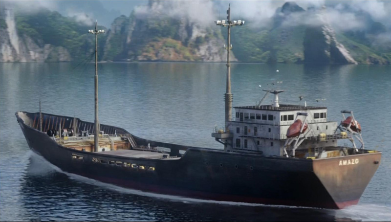 Dizideki göndermeler müthiş. Geminin adına dikkat. Sizce içinde kim olabilir? :-)