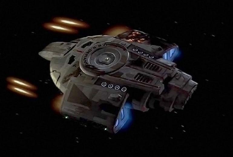 USS Defiant NX 74205