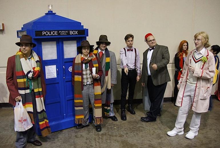 Whovian'lar cosplay yapmaz mı hiç? Tabi ki yapar!