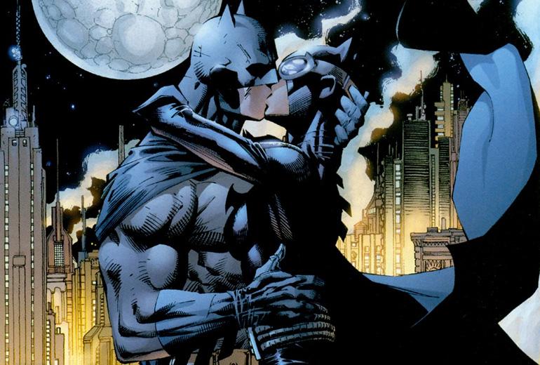 Jim Lee'nin kaleminden çıkmış, Batman: Hush serisinden unutulmaz bir kare.
