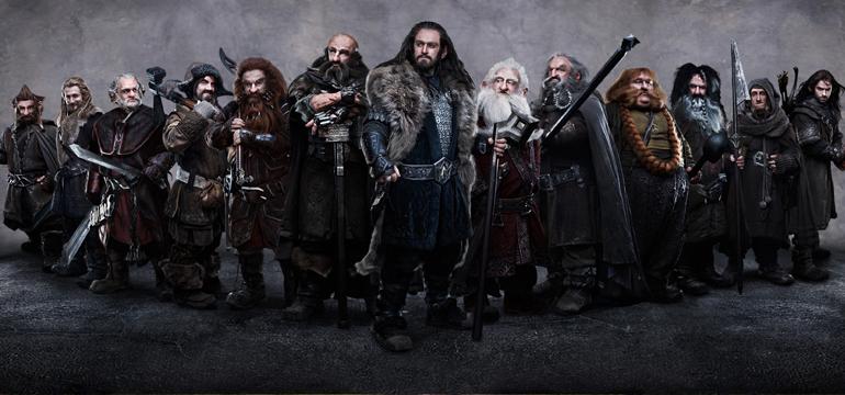 İsimlerini ezbere say bakalım: Thorin, Moruk, Kel Oğlan, Gimli'nin babası, Okçu, Şişko, Sarışın, Oyuk, Moyuk, Goduk, Hödük , Edi, Büdü.