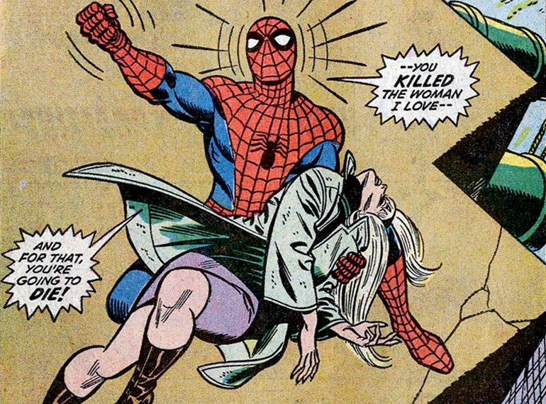 Gven Stacy'nin ölümü. The Amazing Spider-Man #121 (1973)