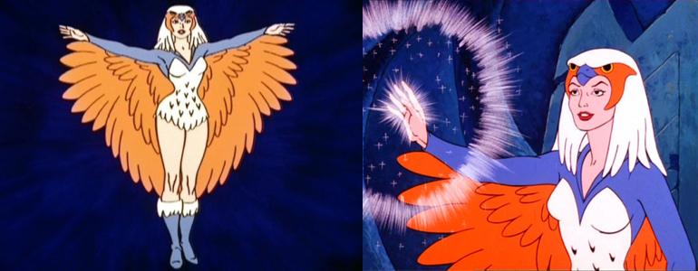 1983 serisindeki Zoar, yani The Sorceress, yani Büyücü.