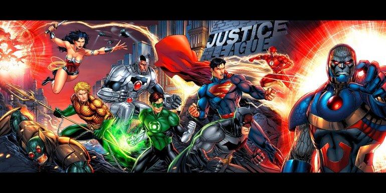 Justice League!..he bir de Cyborg...