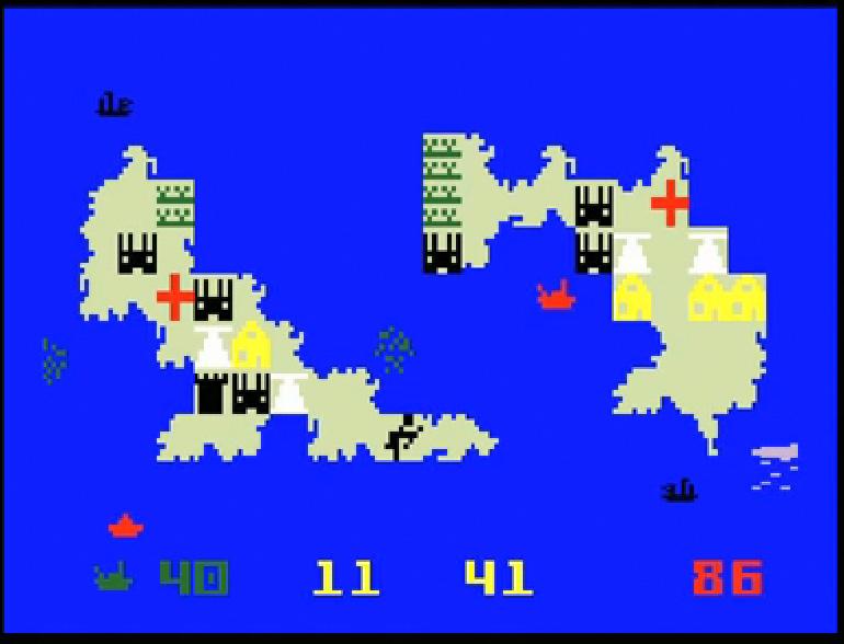 Tarihin ilk RTS oyunu, 1981 yapımı. Tadını çıkarın.