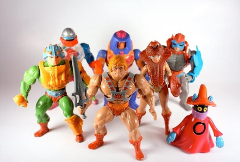 Her şeyin başlangıcı olan Mattel figürleri.