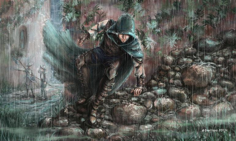 Beraber yürüdük biz bu yollarda, beraber ıslandık yağan yağmurda...