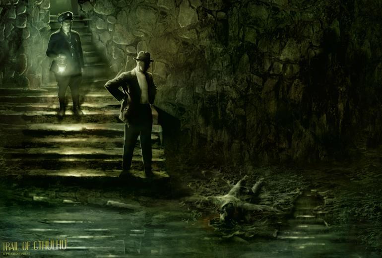 Call of Cthulhu nasıl Lovecraft tarzı ağırlıklıysa, Trail of Cthulhu August Derleth, yani dedektiflik ağırlıklı stil kullanır.