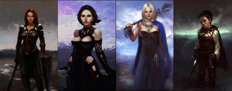 Bu karakter portreleri crpg severler arasında epey ünlüdür, her crpg için yapılmış versiyonlarını bulabilirsiniz.