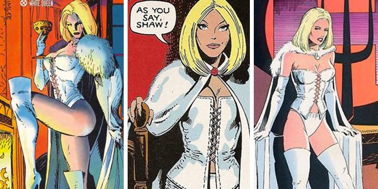Hellfire Club'ın Beyaz Kraliçesi'yken.