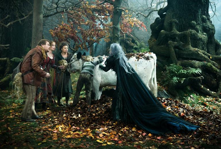 Fırıncı, karısı, Jack ve ineği Milky White, Jack'in annesi ve cadı.