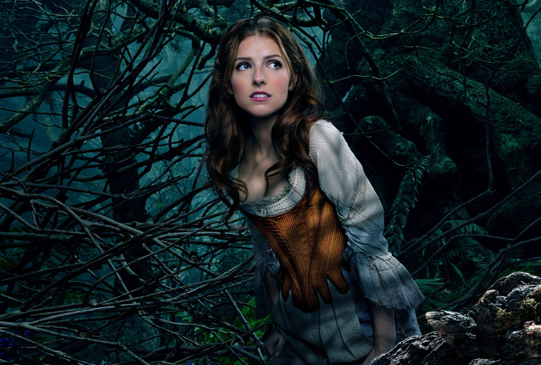 Cinderella rolünde Anna Kendrick.