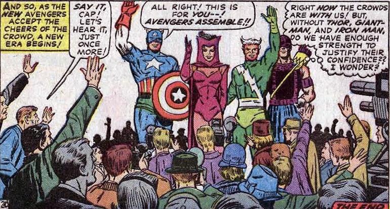 İkinci nesil Avengers