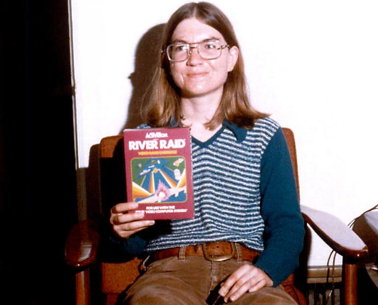Carol Shaw, başyapıtı River Raid'le birlikte.