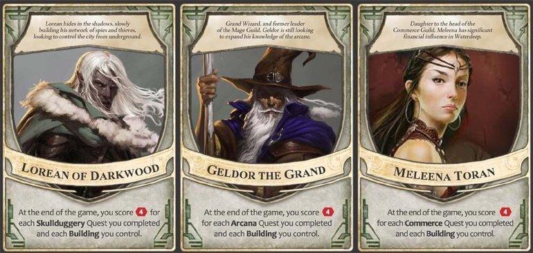 Lordlarımızın oyun sonunda bonus aldıkları ve rakiplerimize çaktırmamamız gereken özellikleri var.