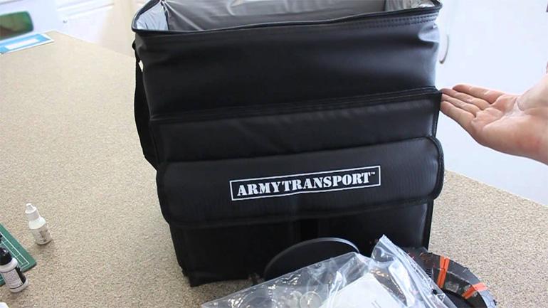 Sabol Design tarafından üretilen Army Transport, şık seçenekler sunuyor.