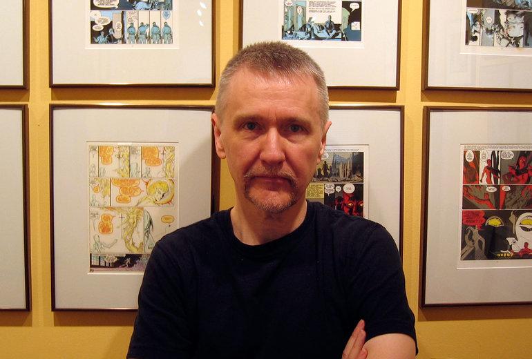 Neil Gaiman'ı zaten tanıyorsunuz. Bu da, çizerimiz P. Craig Russell.
