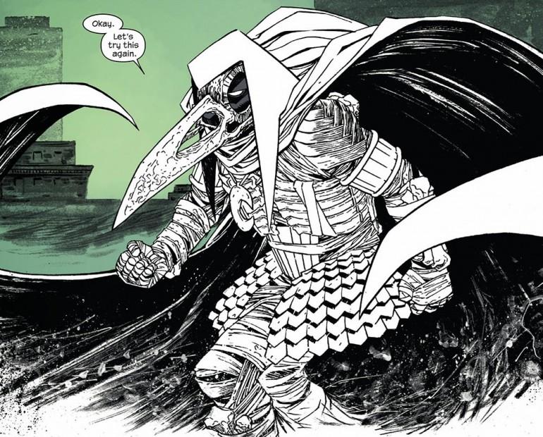 Tanrısından aldığı özel giyecekle karşınızda Moon Knight