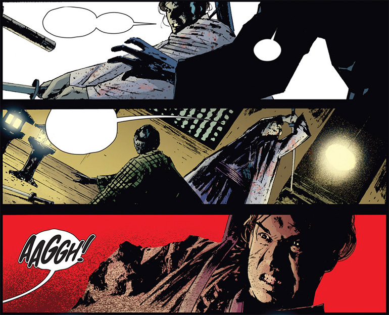 Panik yok! Punisher'ın tüfeği de var