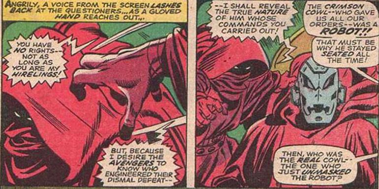 Earth 616'da Ultron'un ilk açığa çıktığı sahne.