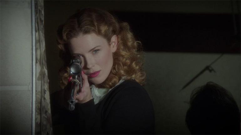 Agent Carter'ın ilk sezonunda Bridget Regan'ın canlandırdığı Dottie Underwood adlı Black Widow.