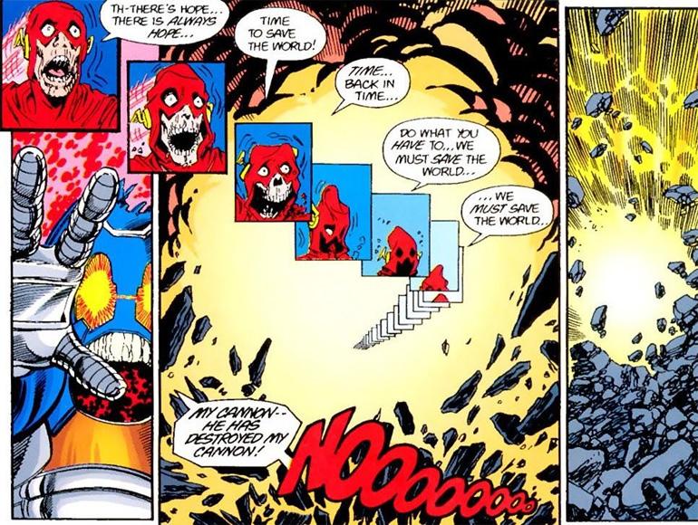 Barry Allen'in ölümü(!)