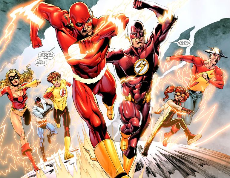 Flash ailesi.