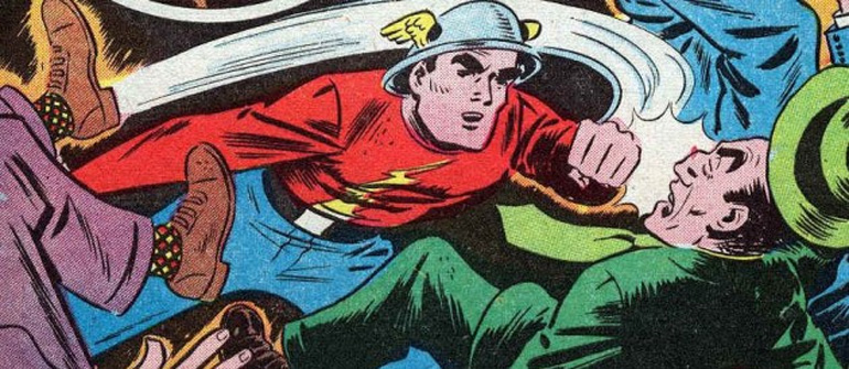 Orijinal Flash; Jay Garrick