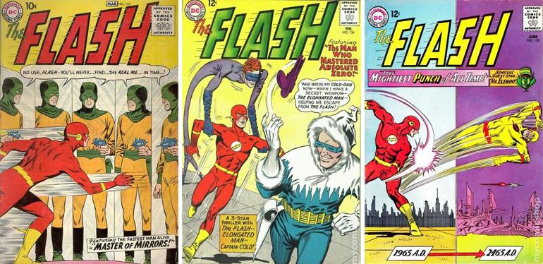 50'li yıllardan Flash kapakları