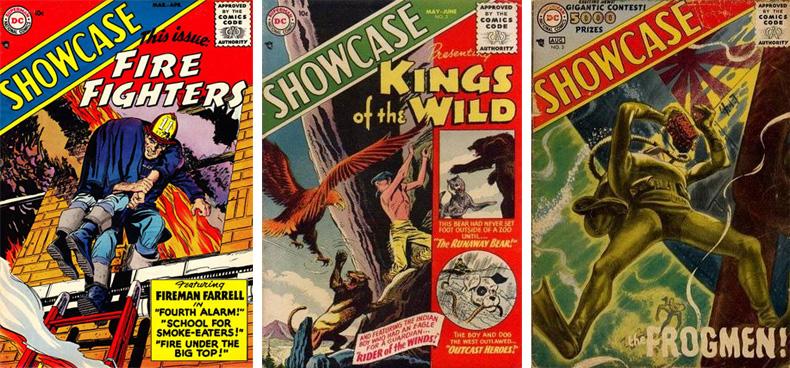 Süper kahramanların yeniden popüler olmasını sağlayan Showcase'in ilk 3 sayısı