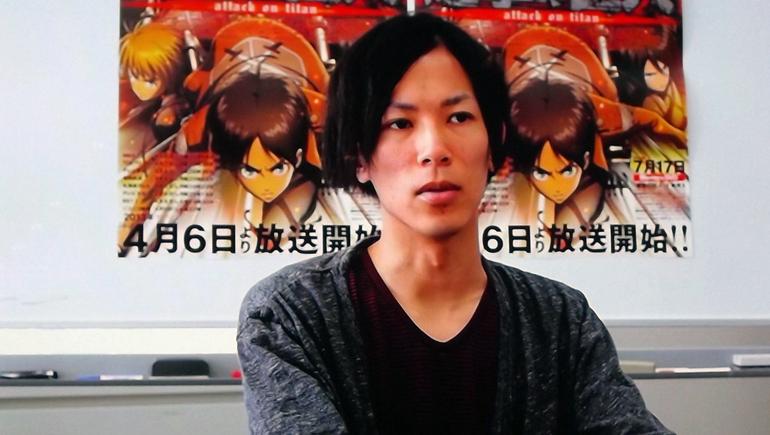Mangaka Hajime Isayama