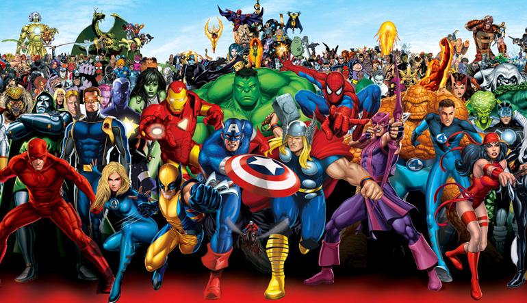 Bildiğimiz, sevdiğimiz Marvel kahramanları Eartth-616'da