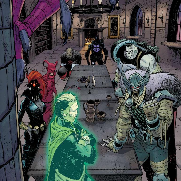 Dr Strange, Black Widow, Daredevil,