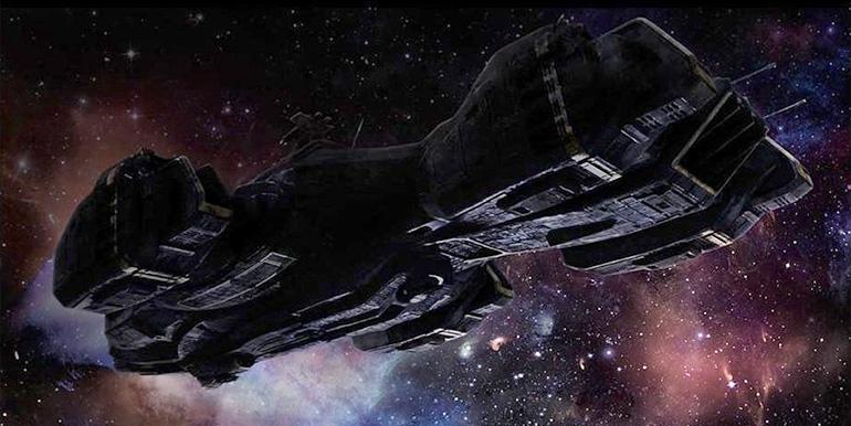 """Dizinin uzay gemisi """"Raza"""" ile tanışın..."""