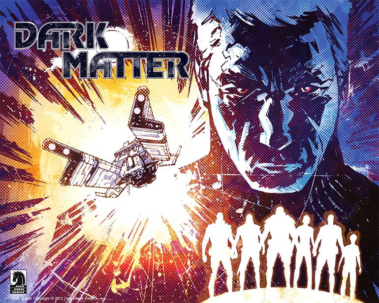 Dizinin çıkış noktası olan, 2012 yılında Dark Horse Comics'in yayınladığı 4 sayılık çizgi romanın kapaklarından biri.
