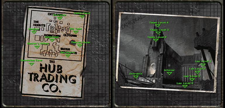 Bethesda'nın hala bu kadar basit ve kullanışlı bir navigasyon yapamamış olması, oyun tarihinin acıklı olaylarından biridir sanıyorum.