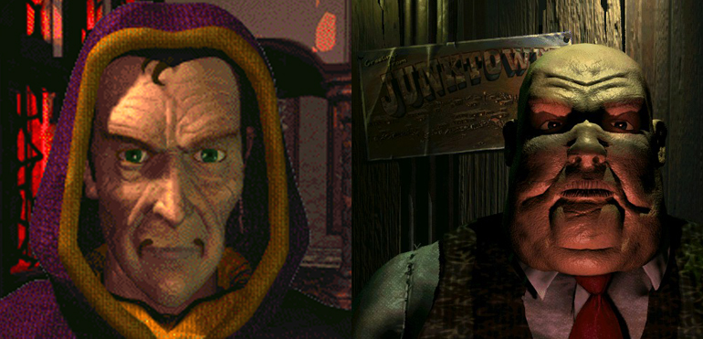 Oyun tarihindeki en kaypak villainlardan biri olan Morpheus ve klasik ama ustaca yazılmış olan Gizmo.