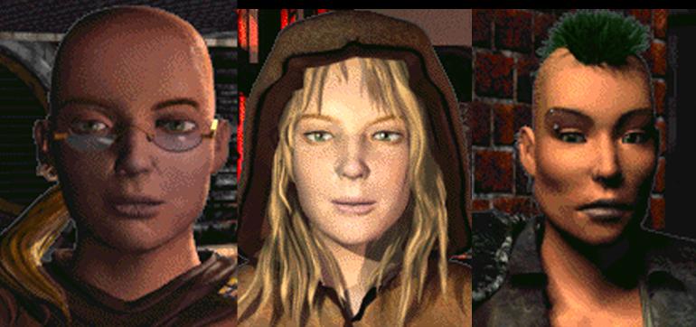 Oyundaki kadın karakterlerin yeri de son derece önemlidir. Sayelerinde oyunu kazanabildiğiniz Vree ve Laura, Followers of the Apocalypse'nin lideri Nicole'ü anmazsam çok ayıp olur.