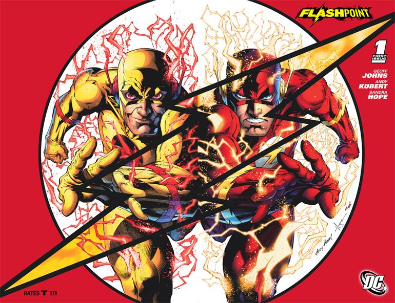 DC'de çağları açıp kapayan Flash, bu kez New 52'nin varolmasını sağladı.
