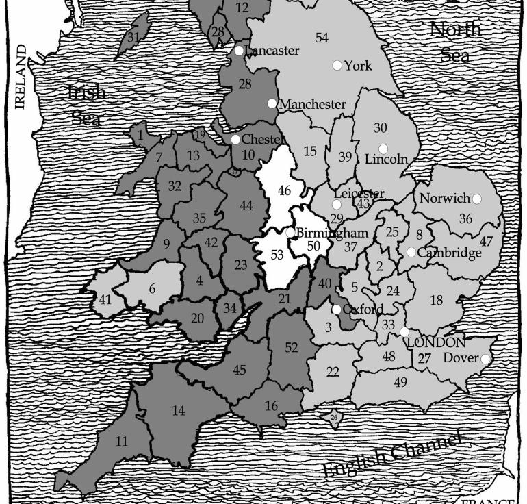 Savaşla parçalanmış İngiltere Krallığı...