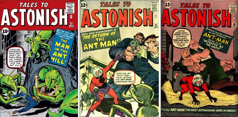 Ant-Man'in okuyucuyla tanıştığı Tales to Astonish