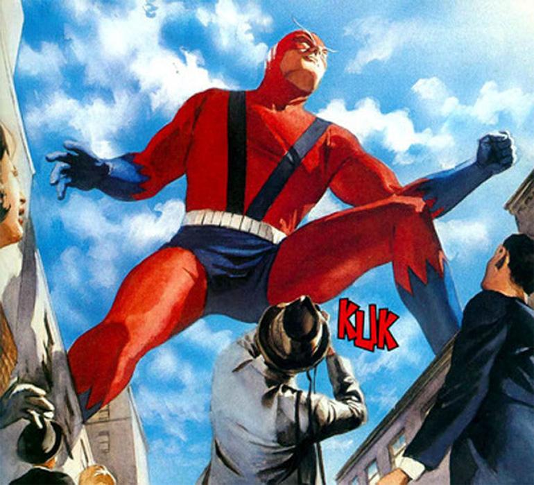 Giant Man adını taşırken Henry Pym