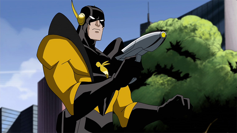 Yellow Jacket ismini taşırken Henry Pym (Earth-8096)