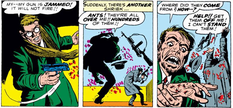 Karınca deyip geçmeyin! Canınıza okuyabilirler! (Tales to Astonish #35 - 1962)