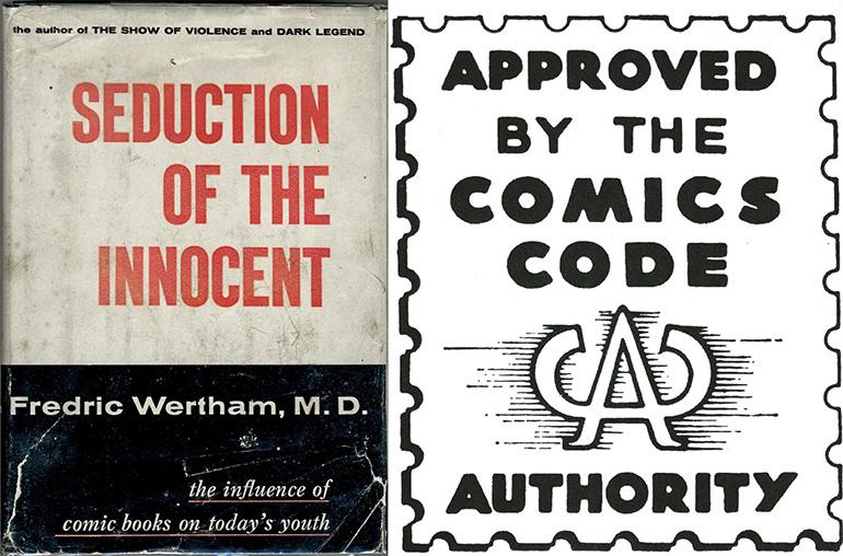 Seduction of Innocent (1954) ve Comics Code Authority etiketi