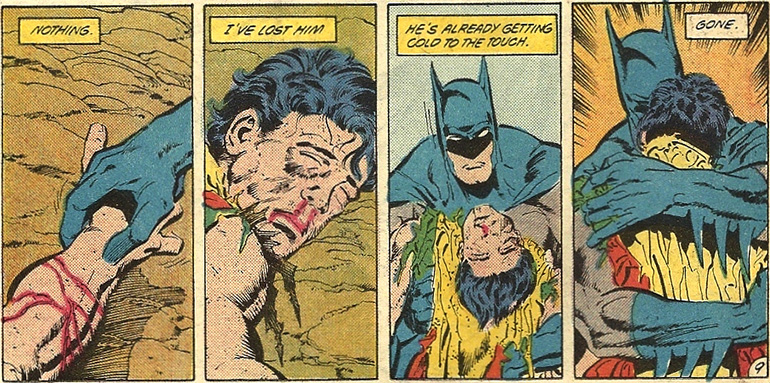 İkinci Robin Jason Todd'un ölümü. A Death In The Family (1984)
