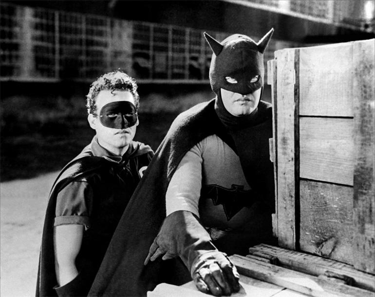 Batman rolünde Robert Lowery (1949)