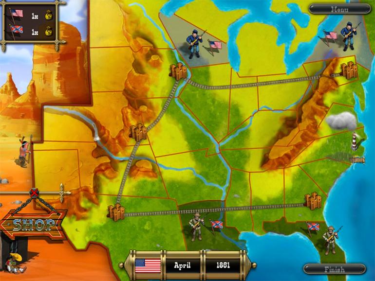 Oyunun harita ekranı