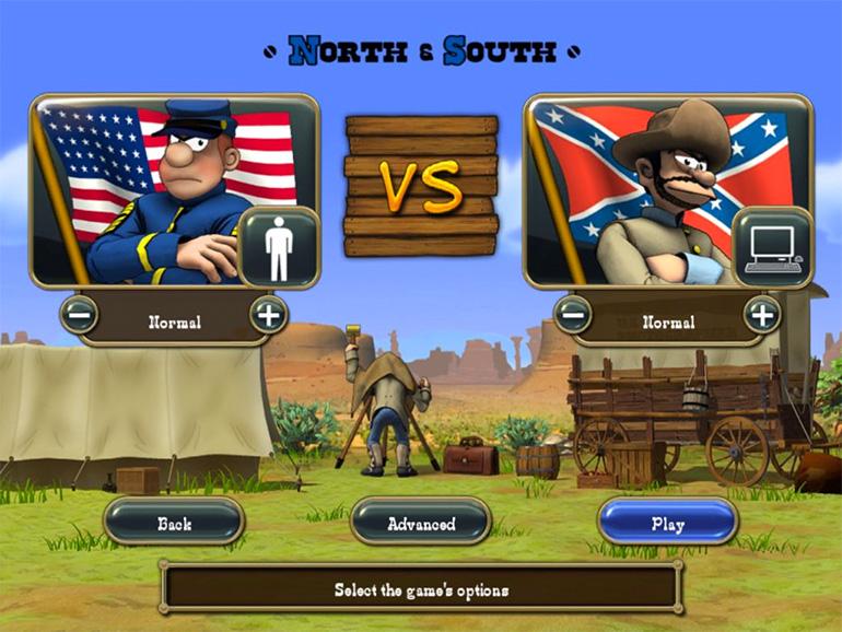 Oyunun ana ekranı ve ortadaki fotoğrafçının bilgisayar tarihine geçen poposu.