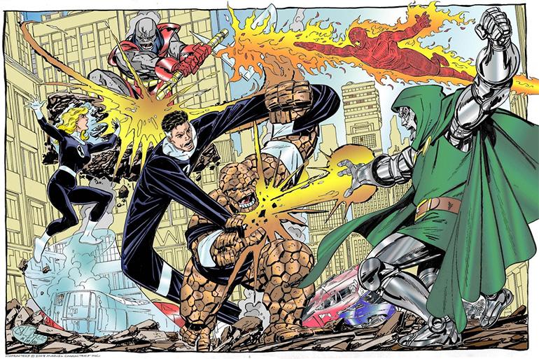 Ben olsam arkamda Terrax the Tamer varken Doctor Doom'la uğraşmazdım!